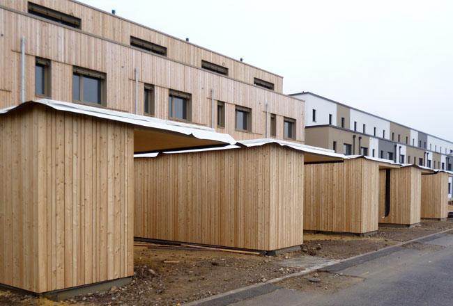 9 town-houses 'Quartier Nonnewise'
