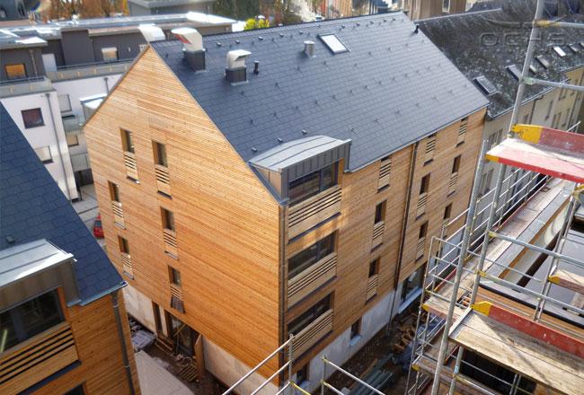 : 9 bâtiments à étages : Les Terrasses, Differdange