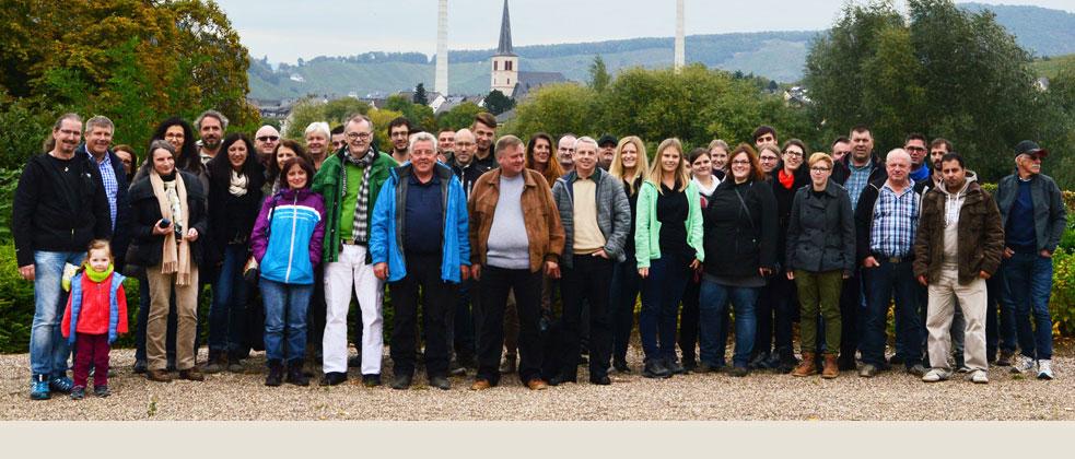 Das Team der Ochs GmbH und Dipl.-Ing. (FH) Heinrich Werner Ochs