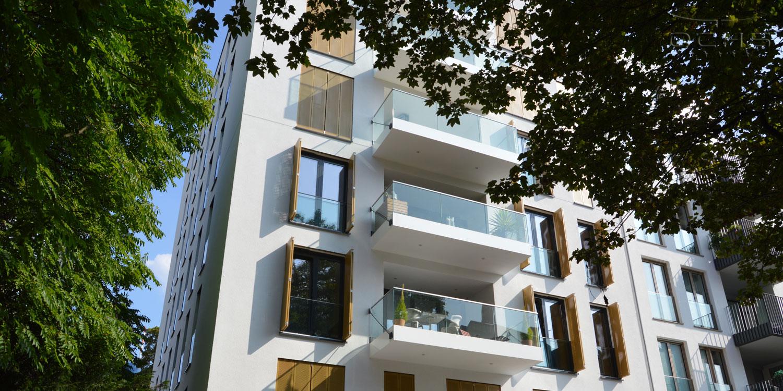 Wohngebäude F8 in Frankfurt a