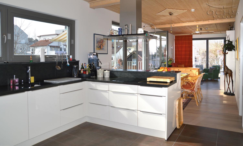 Wohn-Küche Mehrgechossiger Holzbau Oberursel