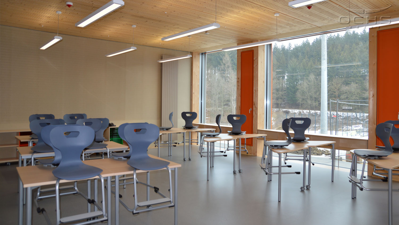 Schule Uewersauer - Klassenraum