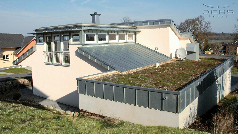 Barrierefrei Wohnen in Kirchberg - Dach
