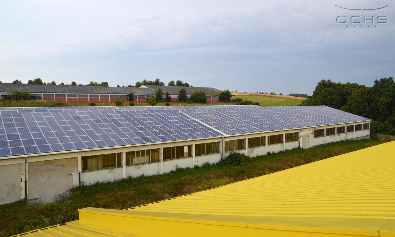 Dachsanierung der Industriehallen in Simmern