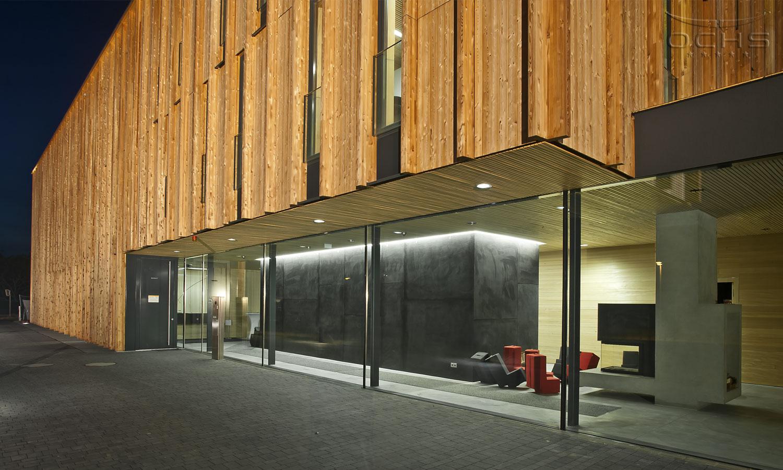 Jugendamt Don Bosco Mainz - Holzfassade