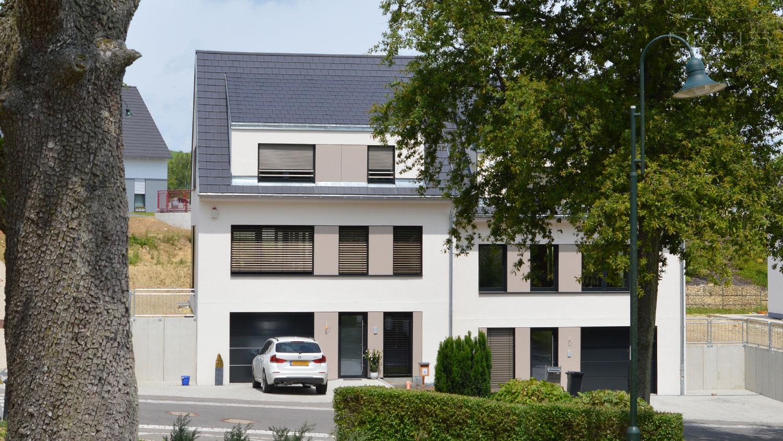 Schlüsselfertiger Neubau - Doppelhaus in Niederdonven, Luxemburg