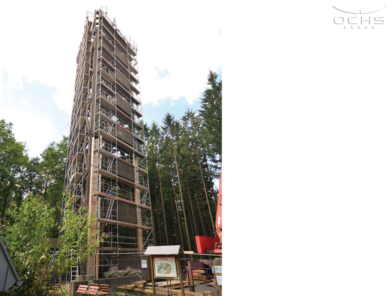 Aussichtsturm in Nümbrecht - Sanierung - Sonderbau