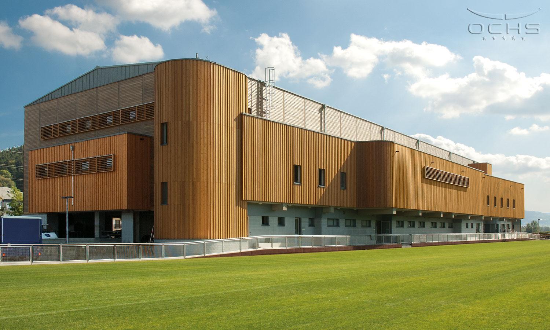 Sporthalle in Lintgen, Luxemburg