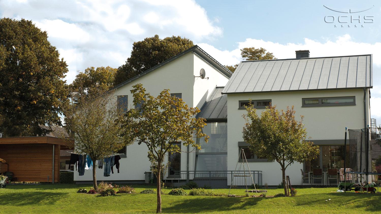 Wohnhaus in Holzrahmenbauweise in Mohrbach - mit Carport