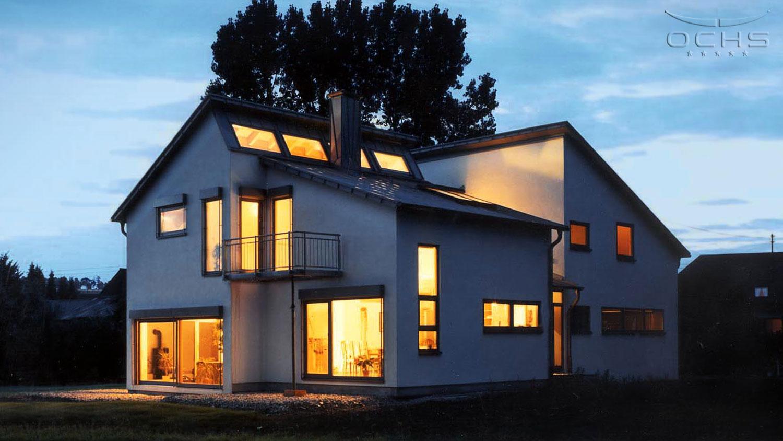 Wohnhaus in Holzrahmenbauweise in Mohrbach