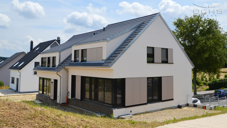 Doppelhaus in Niederdonven