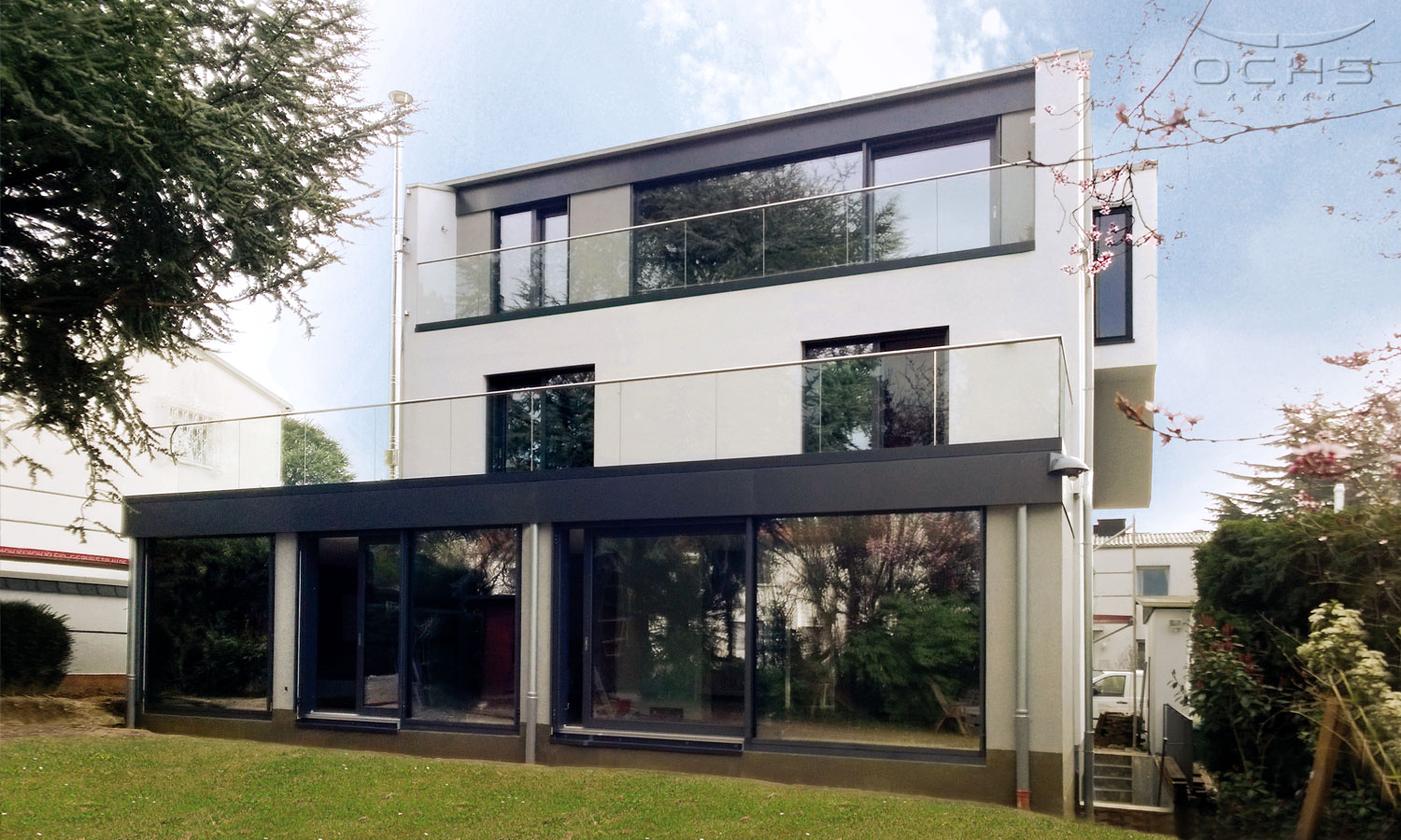 Roof elevation and extension in Frankfurt a.M.