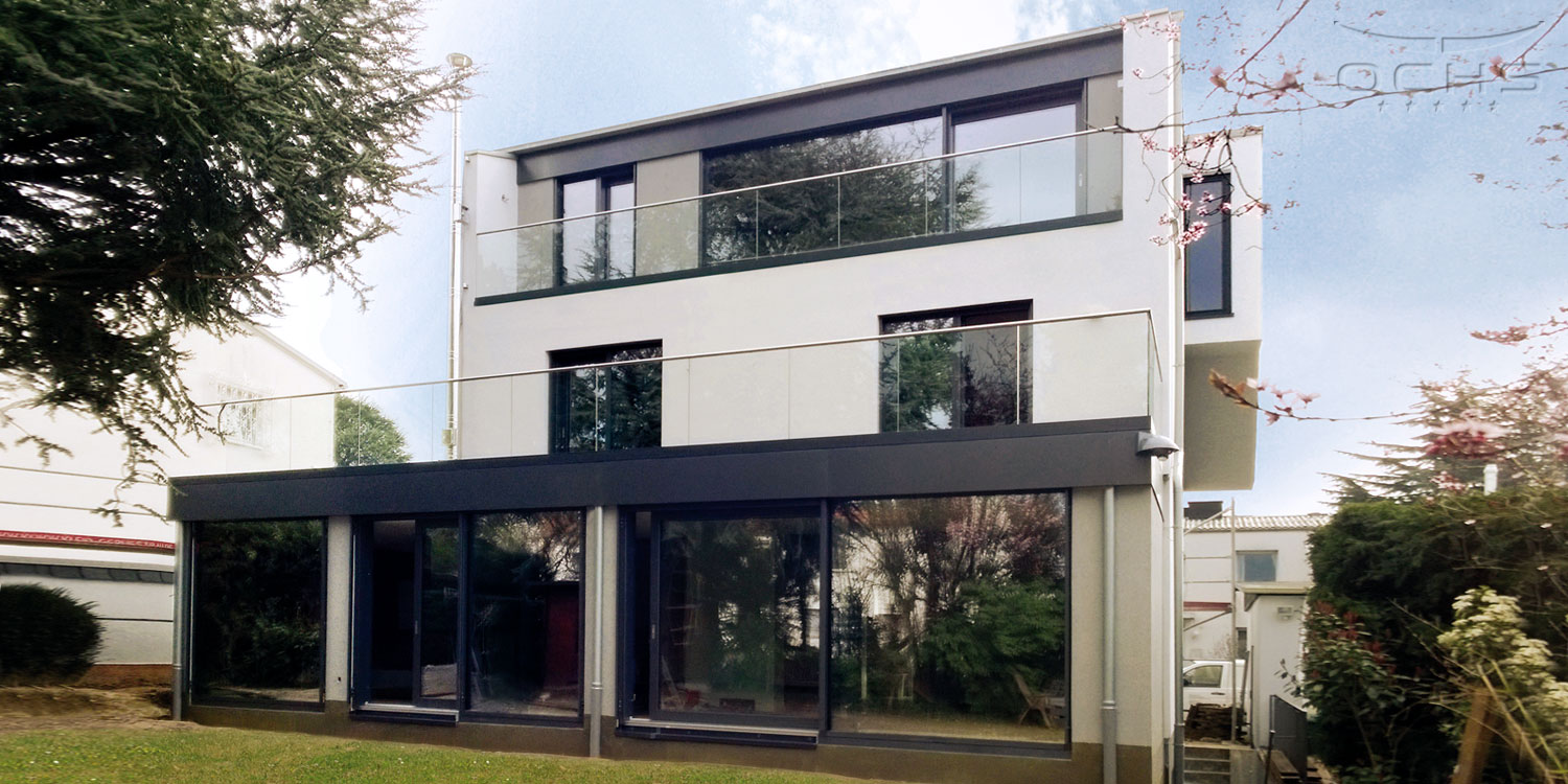 Roof elevation and extension in Frankfurt a