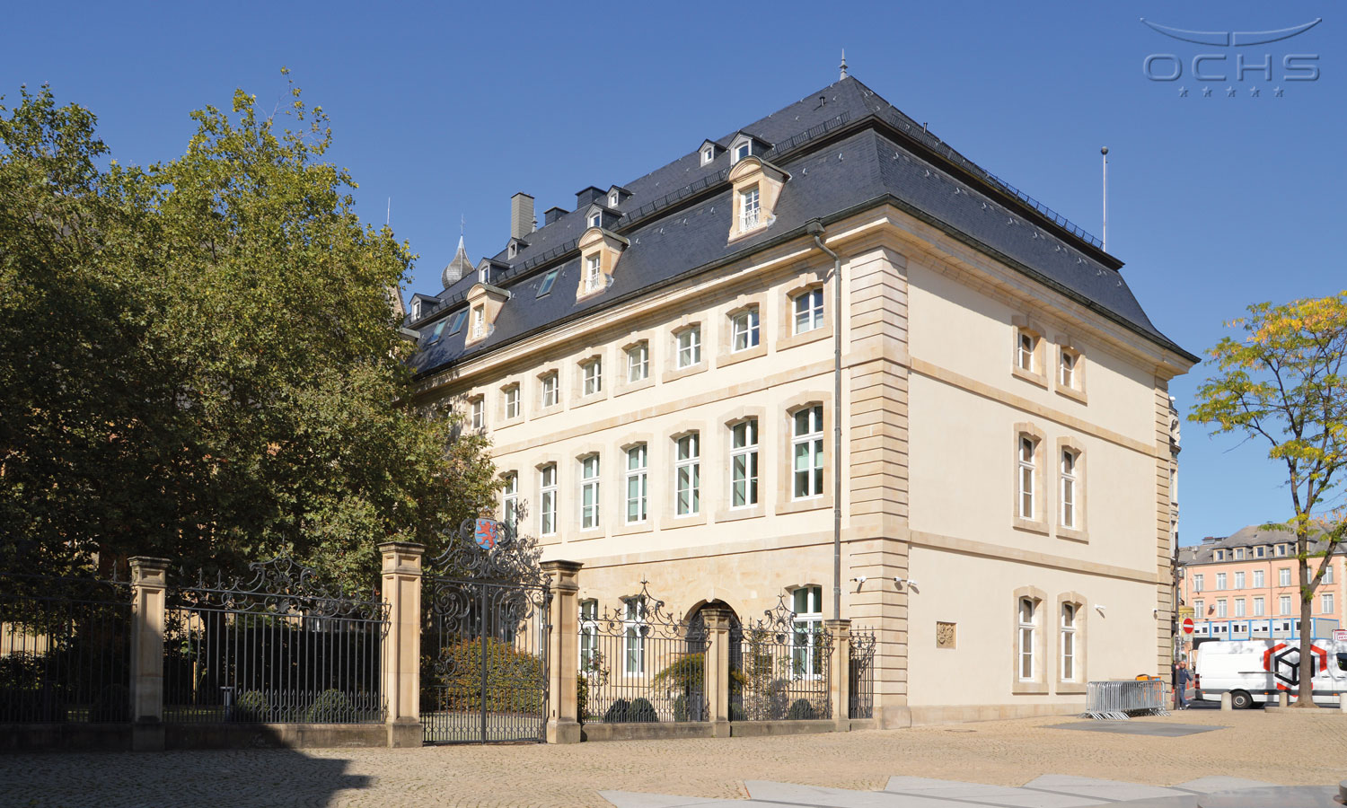Saint-Maximin building for the needs of the Ministry of State in Luxembourg