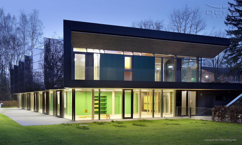 Plusenergie Kita in Marburg