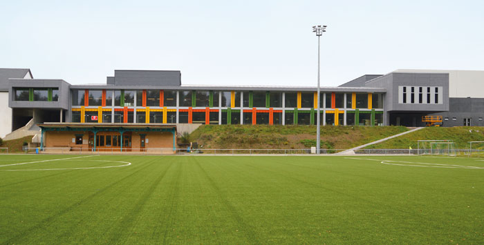 Sporthalle in L-Harlange