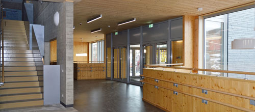 Pressebericht Schule in Harlange