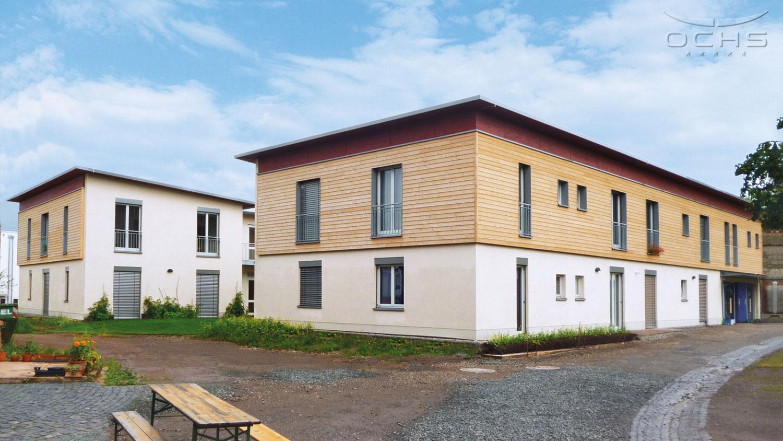 Wohngebäude der Stiftung Hofgut Oberfeld in Darmstadt