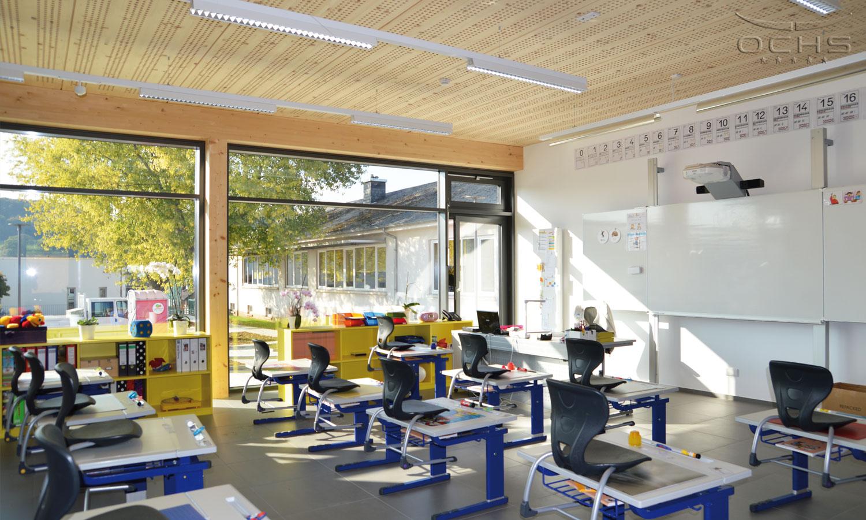 Grundschule Schieren Klassenraum