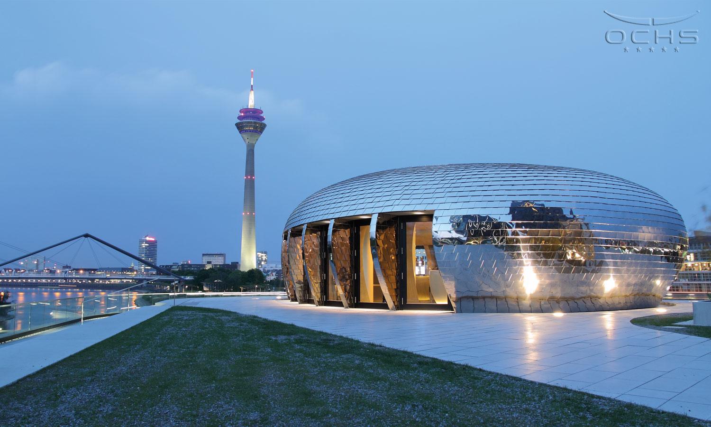 Hafenspitze in Düsseldorf