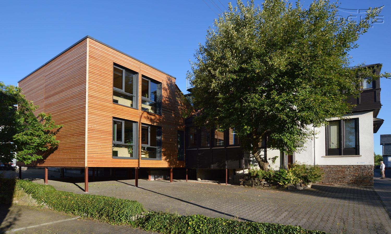 Anbau Bürogebäude in Modulbauweise