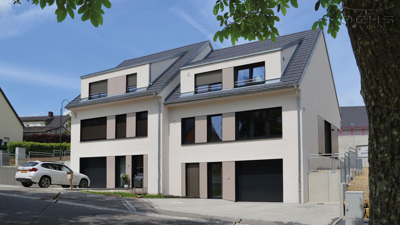 Schlüsselfertig - Doppelhaus in Niederdonven