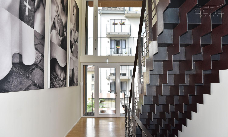 Erweiterung Dominikanerorden in Mainz - Treppenhaus