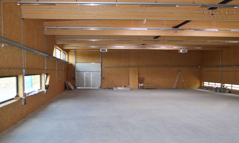Produktionshalle in Elsoff