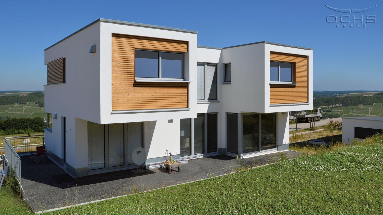 Wohnhaus in Holzbauweise in Wincheringen - Ansicht Süd