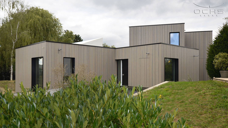 Wohnhaus in Holzbauweise in Mamer