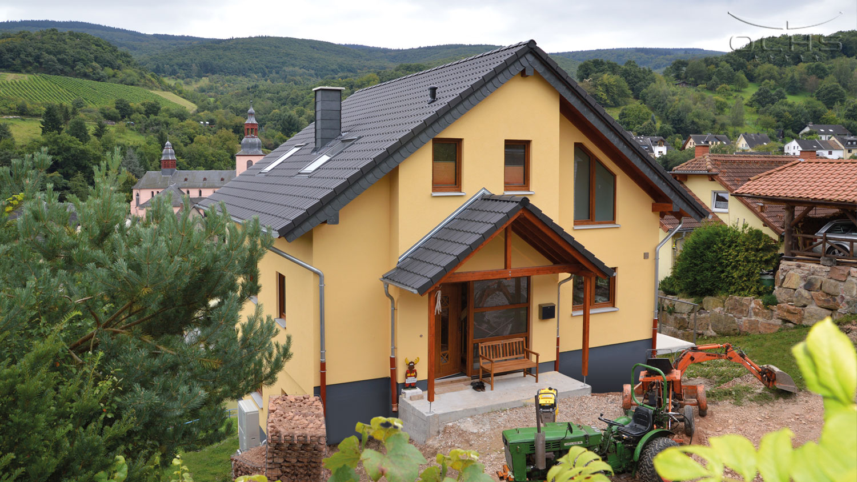 Wohnhaus in Holzbauweise in Oberheimbach