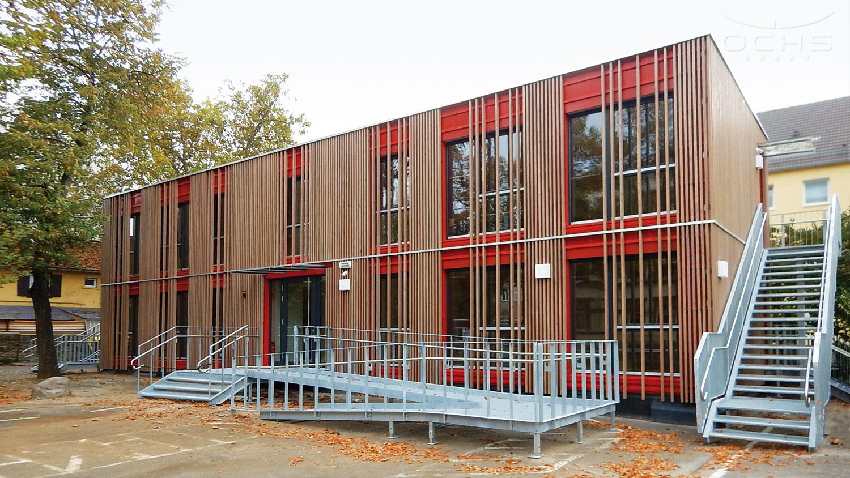 Boehleschule in Modulbauweise
