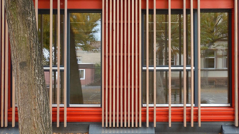 Boehleschule in Frankfurt a.M. - Fassade