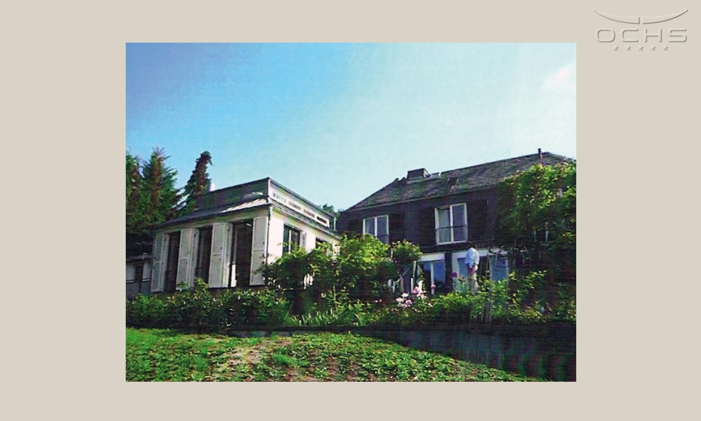 La photo montre l'habitation avant la surélévation