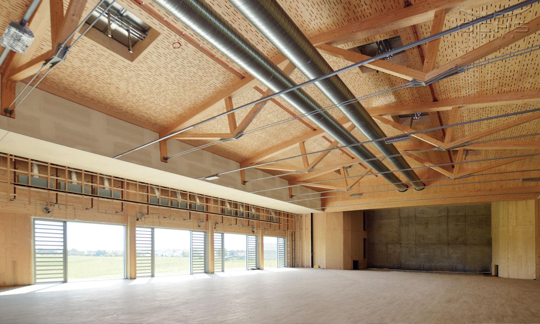 Hall de tennis de table à L-Frisange