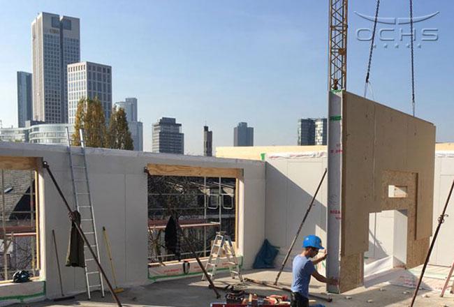 Aufstockung und Baulückenschließung in Frankfurt Westend