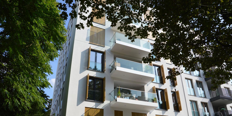 Umbau Bürogebäude zu Mehrfamilienwohnhaus Frankfurt Westend