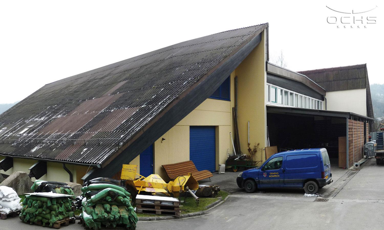 Veranstaltungshalle und Maison Relais in Born