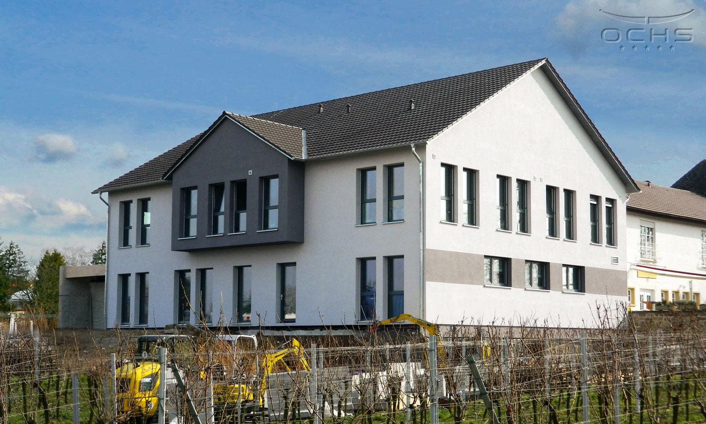 Neues Gästehaus in Holzrahmenbauweise