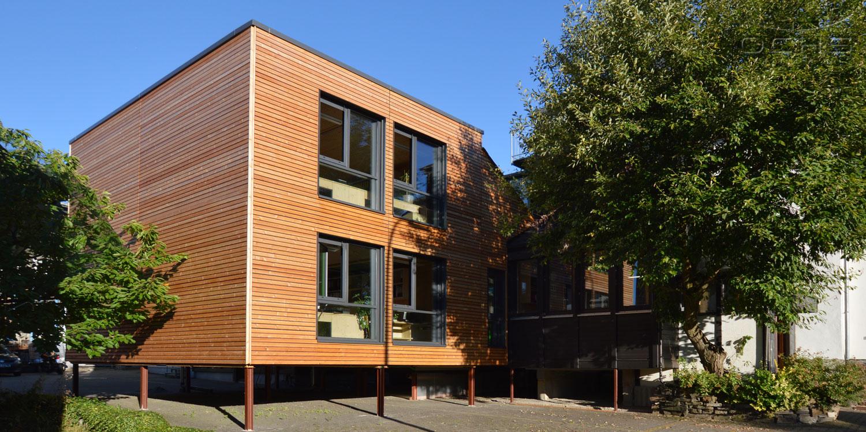 Anbau Bürogebäude in Modulbauweise in Kirchberg