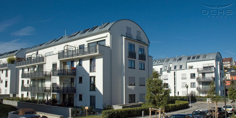 Dachverkleidung aus vorbewitterten Zink-Stehfalz auf Bogendach in Fentange