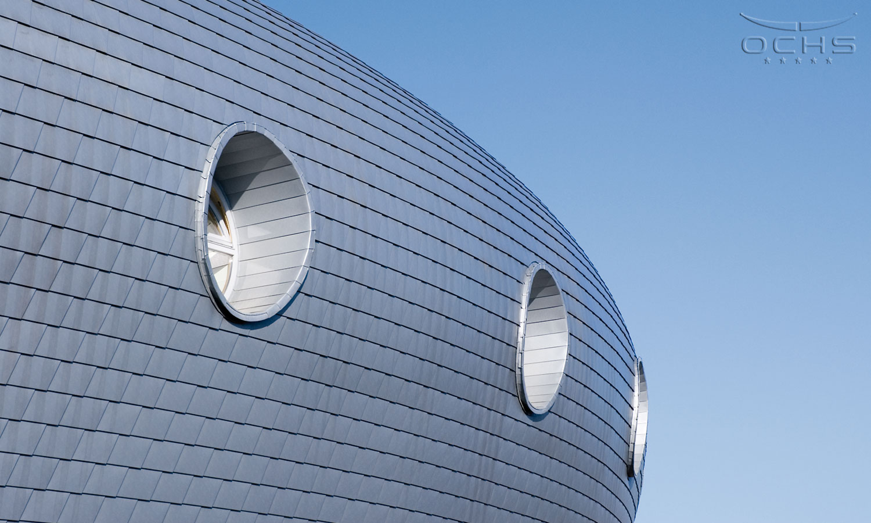Freizeitbad Les Thermes - Fassade
