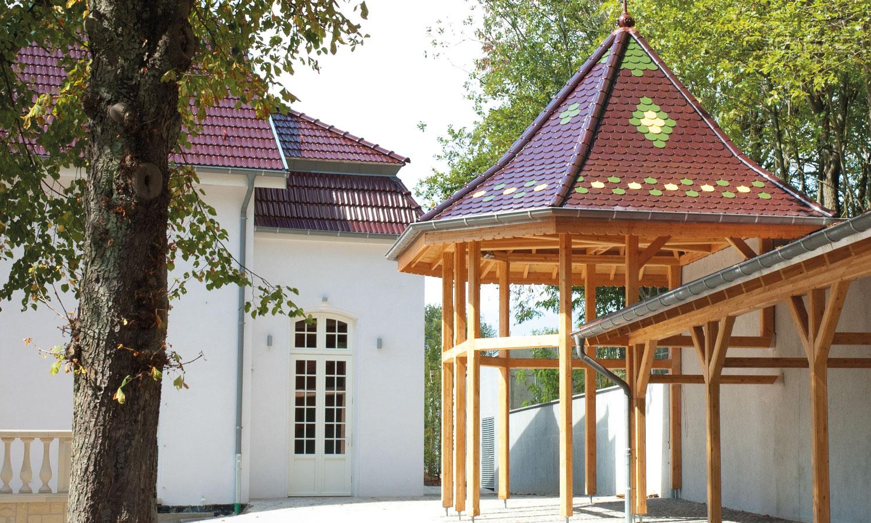 Außenansicht - Gebäude Schéiss in Luxemburg