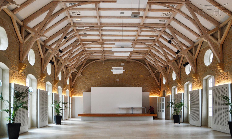 Sanierung Gebäude Schéiss in Luxemburg - Innenansicht