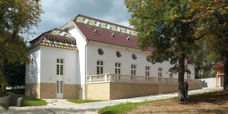Sanierung Gebäude Schéiss in Luxemburg - Außenansicht