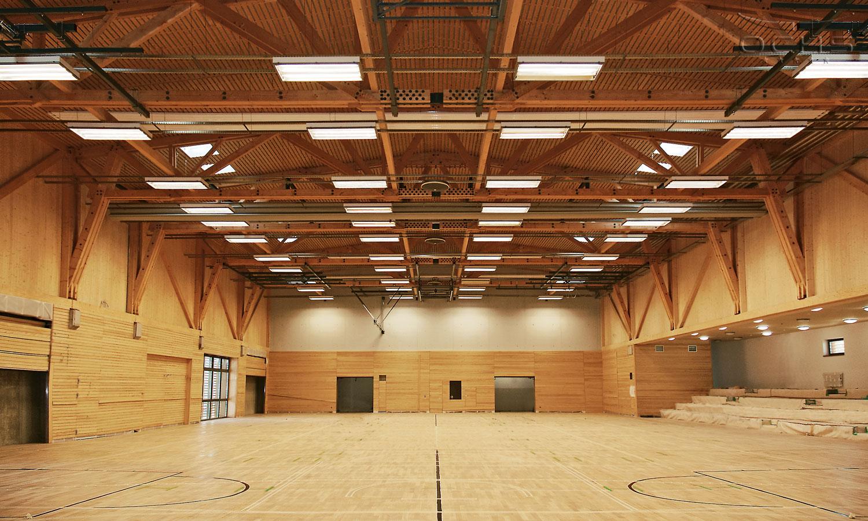 Sporthalle Lintgen - Hallenbau