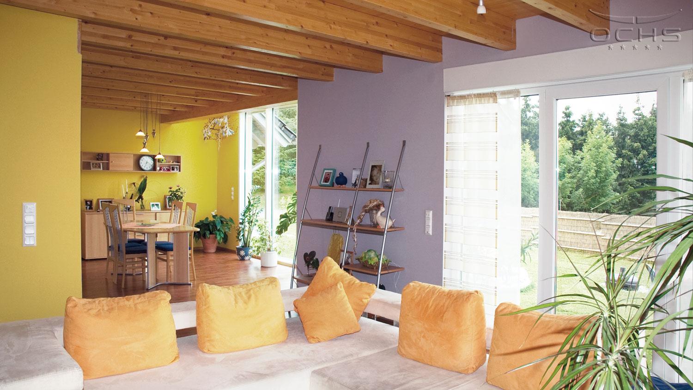 Wohnhaus in Hecken - Wohn- und Essbereich