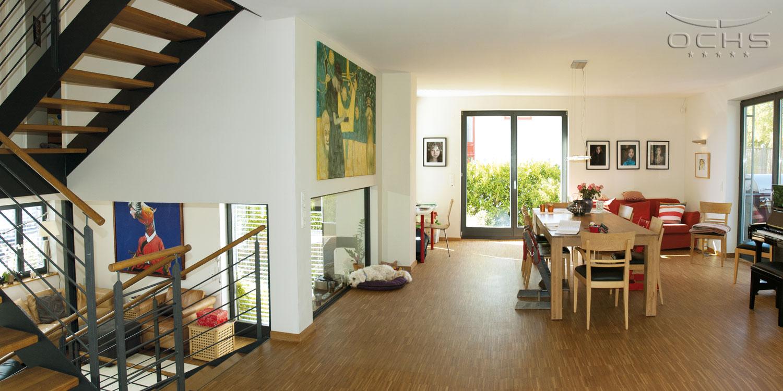 Wohnhaus in Holzbauweise in Schouweiler