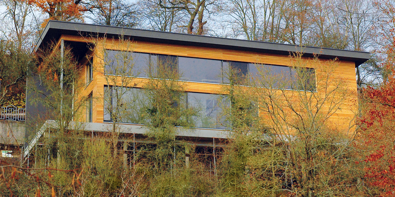 Wohnhaus im Steilhang in Simmern - Holzrahmenbau