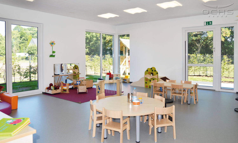 "Betriebskita ""Xkids"" der LANXESS Deutschland GmbH - Gruppenraum"